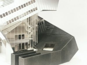 detail view of model