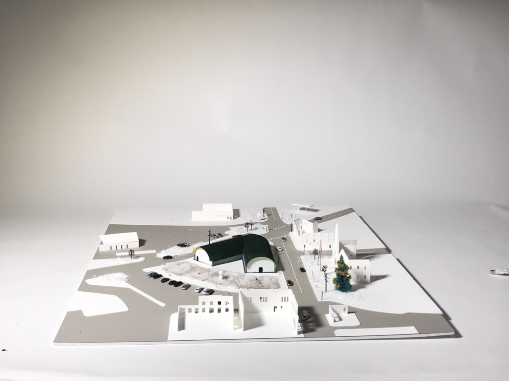 overall view of site model